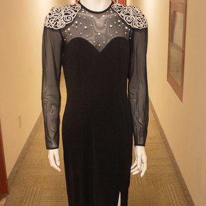 Vintage 80s Algo Boutique Gown